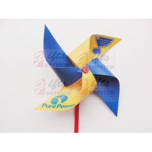 Reklamní plastový větrník s logem