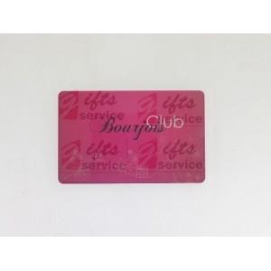 Plastové členské karty na zakázku