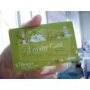 Plastové věrnostní karty s potiskem na zakázku
