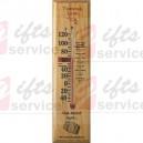 Reklamní dřevěné teploměry