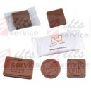 Reklamní mini čokolády s potiskem