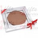 Velké promo medaile z čokolády
