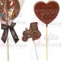 Čokoládová lízátka s ražbou zakázková výroba