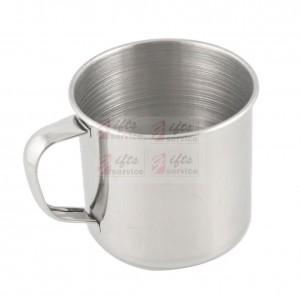 Reklamní nerezový ocelový mini plecháček šálek na espresso