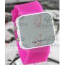 firemní gumové hodinky s LED na zakázku