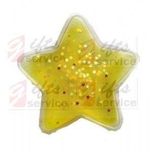 Hřejivé polštářky s hvězdičkami na zakázku