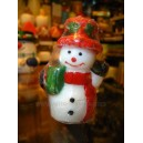 Christmas Snowman Candles