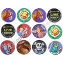 3D Button Badge