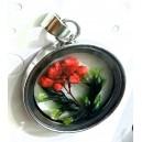 přivěšek 3d medilonek pro přírodní květinu