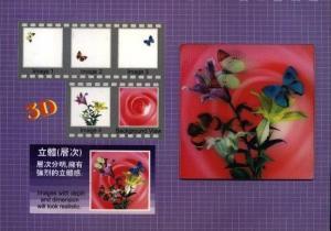 3D pohlednice výroba