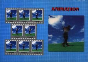 reklamní 3D pohlednice