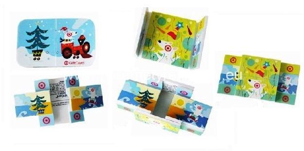 3D reklamní magické karty