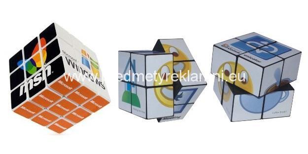 Propagační magické puzzle kostky výroba