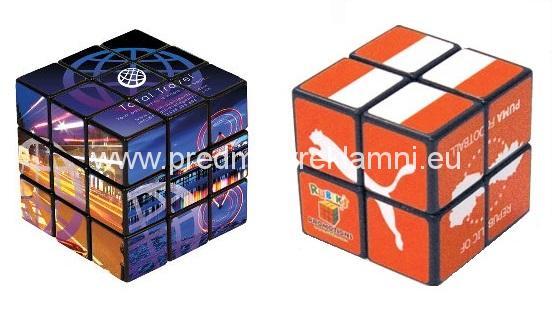 Reklamní magické puzzle kostky
