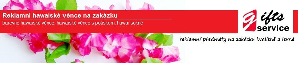 Reklamní hawaiské věnce na zakázku