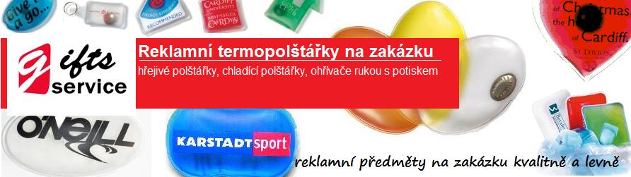 Reklamní termopolštářky na zakázku