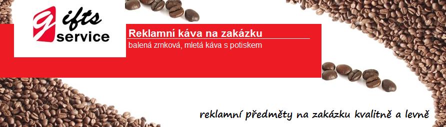Reklamní káva s potiskem
