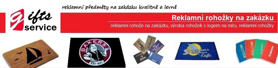 Reklamní rohožky na zakázku