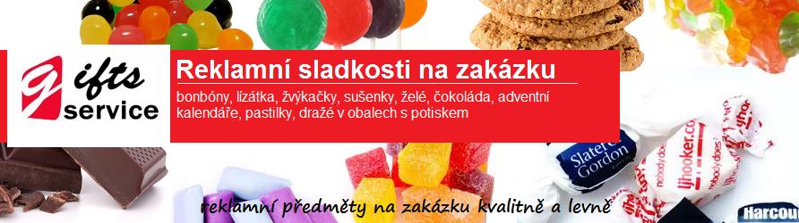 Reklamní sladkosti na zakázku