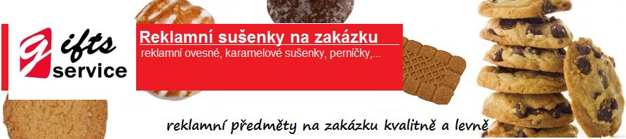 Reklamní sušenky na zakázku