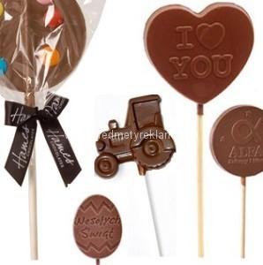čokoládová lízátka výrobce