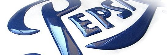 3D samolepky nápisy a písmena na zakázku