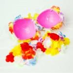hawaiské věnce na zakázku - hula květinový top