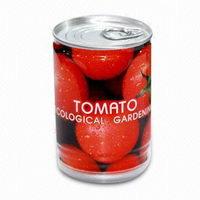 Rostlinky zelenina v plechovce s potiskem - rajče