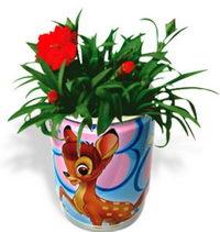Květiny v plechovce - karafiát