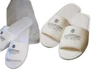 Dárkové hotelové pantofle na zakázku