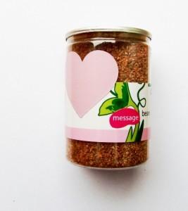 Kouzelné fazole se vzkazem velkoobchod - skladem