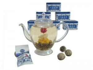 Květinové čaje dárkové sety s potiskem