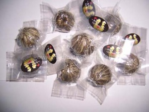Květinové čaje vakuové průhledné balení