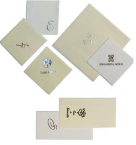 Propagační papírové ubrousky s potiskem