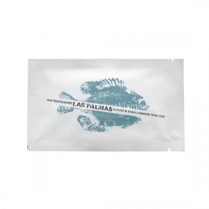 Reklamní kapesníčky s potiskem jednotlivě balené