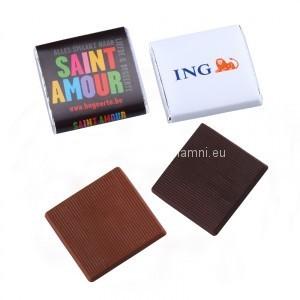 Reklamní mini čokoládky výrobce
