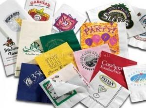Reklamní papírové kapesníčky s potiskem