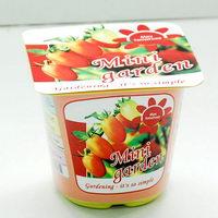 Rostlinky ovoce a zelenina v plastovém obalu s potiskem - mini rajče