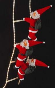 Vánoční osvětlení od výrobce - šplhající Santa