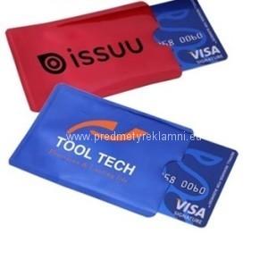 bezpečnostní obaly na platební karty na zakázku
