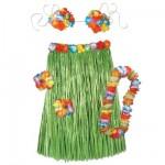 hawaiské věnce - hawaii kostým na zakázku
