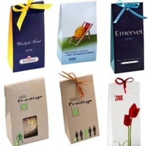 papírové tašky na sladkosti zakázková výroba