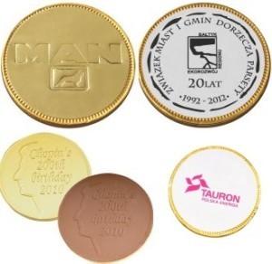 reklamní čokoládové penízky výrobce