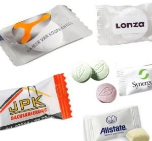 reklamní bonbóny mint výrobce