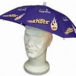 reklamní deštníky na hlavu na zakázku