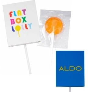 reklamní lízátka v ploché krabičce výrobce