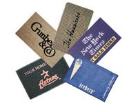 Reklamní rohožky na zakázku tkané