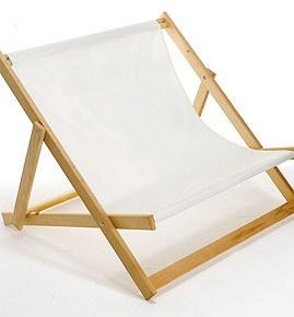 reklamní skládací látková židle pro dva na zakázku
