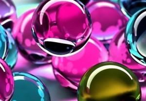 reklamní skleněné kuličky na zakázku