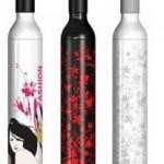 skládací deštníky v dárkovém balení ve tvaru lahve